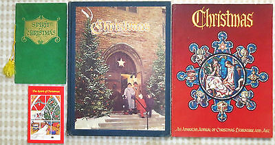 Vintage(The Spirit of)Christmas Book(USA)LOT–Literature,Art,Music,History,Poetry