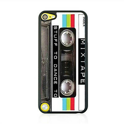 Cartoon Tape Patterns Printed Back Hard Case Cover Skin For Apple Ipod Touch 5