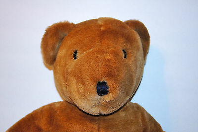 """Large Vintage Allied Stores Teddy Bear 22"""" Brown"""