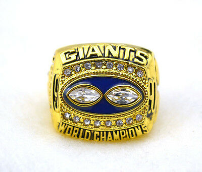 Classic Collection 1990 New York Giants Super Bowl championship rings C63