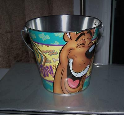 Scooby-Doo Tin Bucket Pail Easter, Beach Pail, Room Decoration Any Occassion