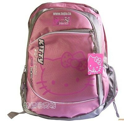 Popular new pink Hello Kitty cute backpack school bag Travel Bag Shoulder bags