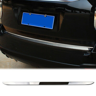 For Subaru Forester 2014 – 2018 Chrome Rear Door Tail Gate Boot Trunk Trim Cover
