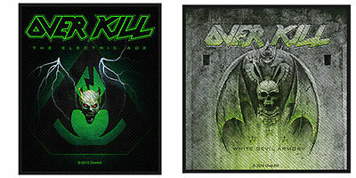 Overkill Sew On Patch/Patches NEW OFFICIAL. Choice of 2 Designs