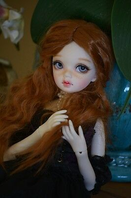 BJD REMI Darak MSD Size Full Set 42 cm tall RESIN DOLLHEART outfit included