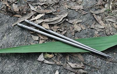Titanium Chopsticks with Draw String Bag 7.2mm*235mm / 14.5g
