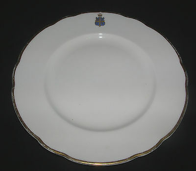 "Rare China Dinner-plate "" Official Dinner-Service Claridges Hotel "" Worcester"