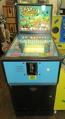 BROMLEY ROCK'N BOWL COIN ROLLDOWN REDEMPTION ARCADE GAME Shipping Available