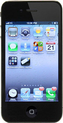 "Apple iPhone 4 8GB MD146LL/A iOS 3G Smartphone 3.5"" Verizon - Black NEW"