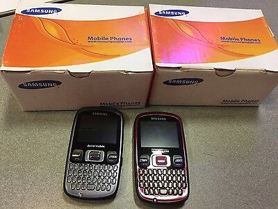 Samsung Freeform R350 Gray/red Phones Lot Of 60. In Boxes