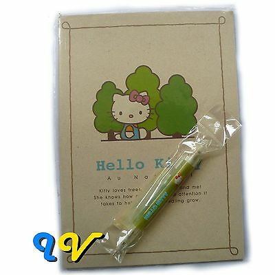 Sale! ATC Vintage 1999 Hello Kitty Collector's Notebook with Mechanical Pencil