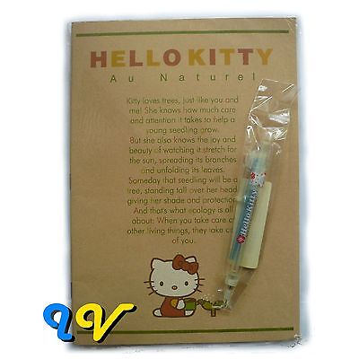 Sale! ATC Vintage 1999 Hello Kitty Collector's Notebook with Mechanical Pencil A
