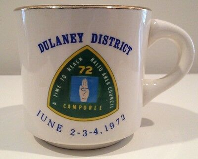 Dulaney District A Time to Reach Baltimore Area Council 1972 Vintage Ceramic Mug