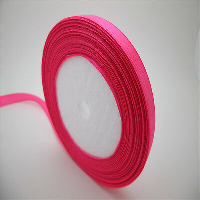 "NEW 5 yards 3/8""10 mm satin ribbon wedding/Gift craft sewing decorations  CM15"