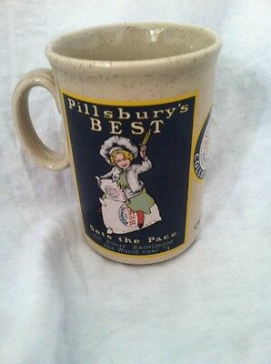 Pillsbury's Best 1986 Collector's Mug Never Used! Ceramic Stoneware England