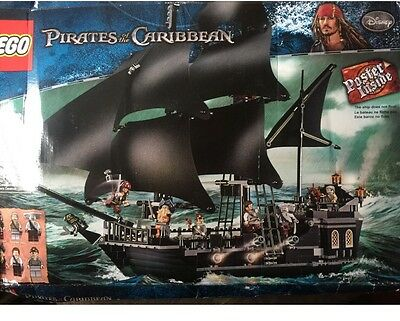 Pirates Of The Caribbean Lego The Black Pearl 4184 New Ages 8-14