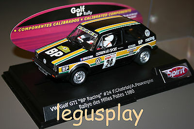 SCX Scalextric Slot Spirit 0701503 VW Golf GTI BP Racing Rally des Milles Pistes