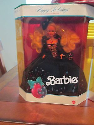 HOLIDAY BARBIE DOLL 1991