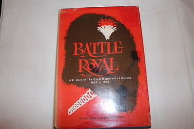WW1 WW2 Canadian Battle Royal Regiment of Canada Unit History Reference Book