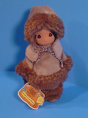 Precious Moments Doll ' Sulu' Alaska 1994 Rare New Condition with Tags !