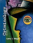 Criminology - The Core by Larry J. Siegel (1997, Hardcover)
