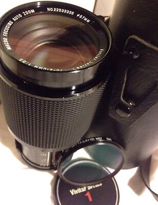 Vivitar Series 1 70-210mm F/3.5 Macro Focusing Auto Zoom No 22533336 lens