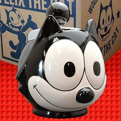 Felix the Cat old fashioned turndown ash tray - awesome Japan quality gear