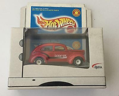 Hot Wheels 1999 SPECIAL EDITION Lexmark Red Fat FENDERED '40 1:64 VHTF Rare !