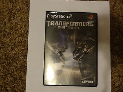 Transformers The Game for Playstation 2