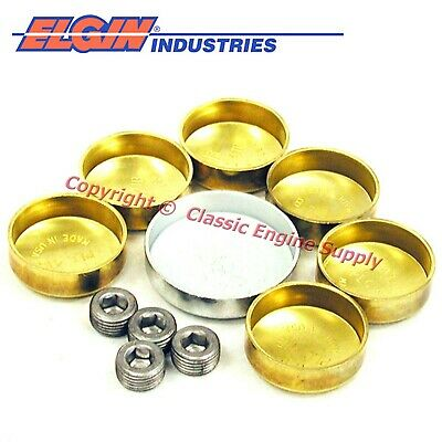 New EP614BR Elgin Brass Freeze Plug Set Chrysler bb 383 400 413 426 440