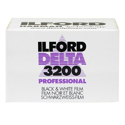 Ilford 3200 Delta 135 Film - White/Black 1 pack 36 exposures