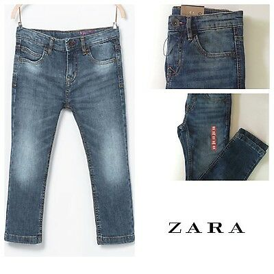 Zara Boy's Medium Wash Regular Fit Jeans