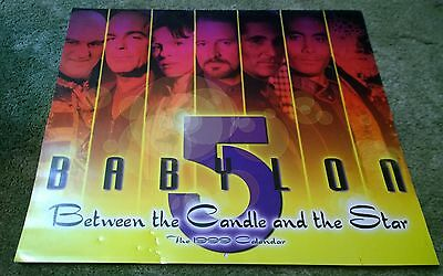 1999 Babylon 5 Between the Candle and the Star Calendar