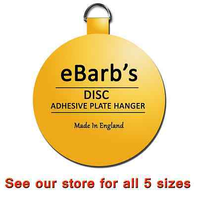 eBarb's ORIGINAL Invisible Disc Adhesive Plate Hangers-See our store for more:)