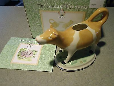 PFALTZGRAFF -CIRCLE OF KINDNESS -SWEET FACE COW CREAMER - NEW IN BOX -