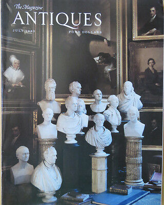 The Magazine ANTIQUES --JULY 1983 MAGAZINE -- MARTHA'S VINYARD ISSUE