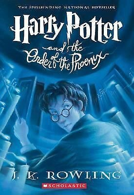 Harry Potter and the Order of the Phoenix 5 by J. K. Rowling (2004, Paperback)