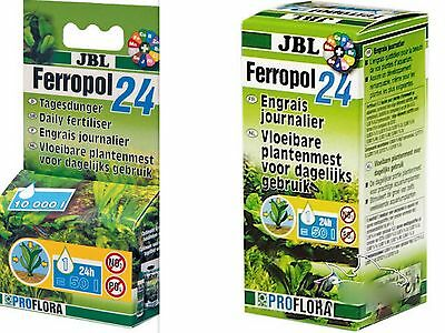 JBL Ferropol 24 *Daily Fertilizer -*10 ml*50ml -daily feed for luxuriant plants