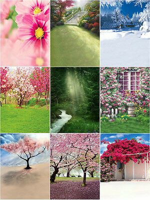 """NC Nature Backdrop/Background  for 18"""" doll  or similar doll"""