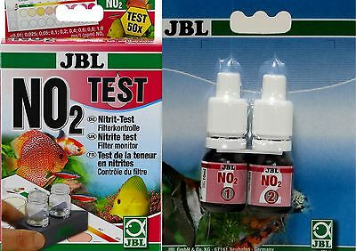 JBL Nitrite Test NO₂* Recommended level: max. 0.1 mg/l nitrite in fresh wat
