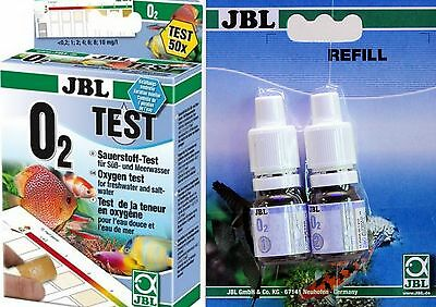 JBL Oxygen Test O₂  Aquarium Water Testing Set JBL Oxygen Test Set 02