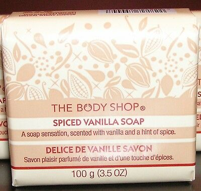The BODY Shop SOAP *** SPICED VANILLA *** Soap BRAND NEW