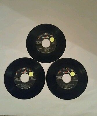 """*DANCE WITH DICK CLARK 45 RPM 7"""" JUKEBOX RECORDS* VOLUMES 1,  2,  & 3 * EP *"""