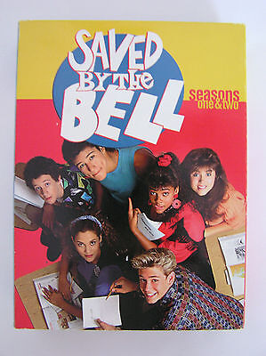 SAVED BY THE BELL - SEASONS 1 & 2 DVD 5-DISC BOX SET SIGNED BY DUSTIN DIAMOND