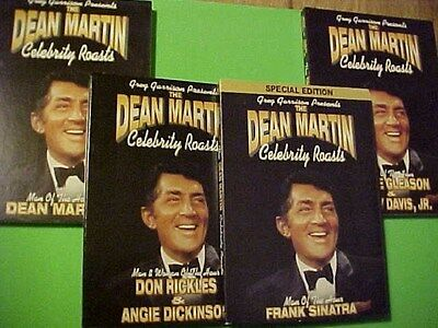 NEW 4 DVD Dean Martin Roast RAT PACK Frank Sinatra Sammy Dean Don Rickles +