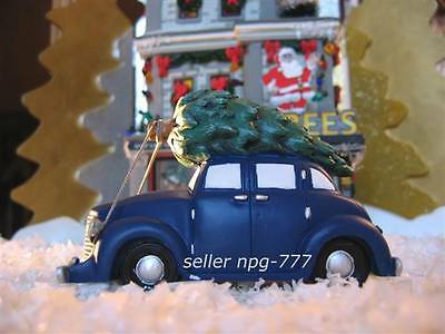 DEPT 56 2006 A CHRISTMAS STORY BRINGING THE TREE HOME OLD MAN'S CAR OLDS RETIRED