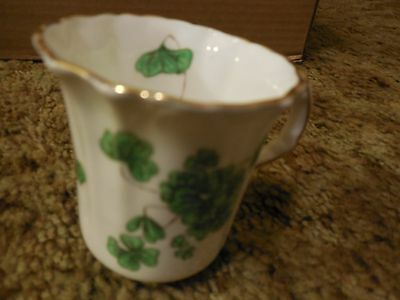 Hammersley Fine Bone China Shamrock Cup Excellent St Patrick's Day, England