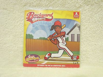 Backyard Sports Baseball Computer Game CD by Atari Chick-fil-a Kid Meal Toy 2012