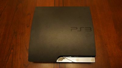 PS3 Slim 120 GB BUNDLE Controller and all the cables! Excellent condition w/MGS4