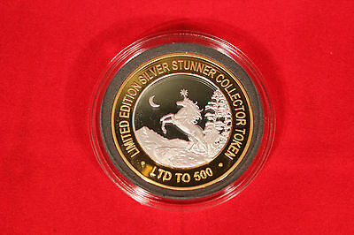 Mystic Unicorn Silver Stunner Coin - Limited Edition 500 Released
